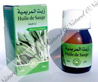 Huile de Sauge (Macérât Huileux) 100% Naturelle 30ml Sage Oil, Aceite de Salvia