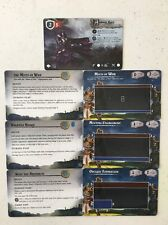 x7 Runewars Official FFG OP Elite & Core Prize Cards Ankaur Maro
