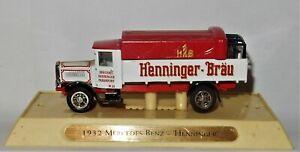 Matchbox ~ MERCEDES BENZ ~ Henninger Brau MODELS of YESTERYEAR World Beers c1993