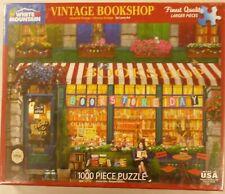White Mountain 1000 Piece Puzzle Vintage Bookshop New # 1488