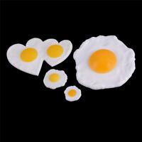 Huevos Fritos Escalfados Simulados Falsa Decoración Caja del Teléfono Juguete