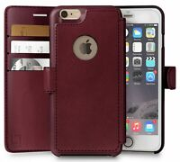 Funda Para Billetera Iphone 6 Plus, 6S Plus | Duradero Y Delgado | Ligero Con...