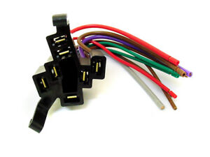 1967-90 GMC Ignition Starter Switch Wire Wiring Harness Pigtail Connector Plug