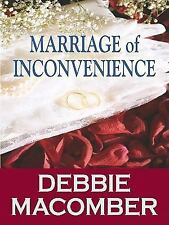 Marriage of Inconvenience (Thorndike Romance)-ExLibrary