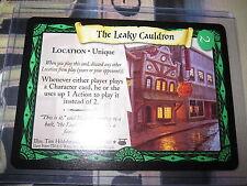 HARRY POTTER TCG CARD DIAGON ALLEY THE LEAKY CAULDRON 27/ 80 RARE ENGLISH MINT