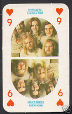Monty Gum Card - 1970's Hitmakers Music Card - Earth & Fire (1)