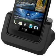 HTC One M7 Dock Sync Charge Cradle Charger w/ Detachable Case Plate + USB Cable