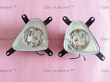 Hyundai New EON White Fog Lamps Lights Assembly Bumper Light Lamps L & R