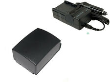 IA-BP105R Battery Pack + Charger for SAMSUNG HMX-F80 HMX-F80BN/XAA HMX-F80SN/XAA