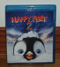 HAPPY FEET 2 - HAPPY FEET TWO - BLU-RAY - NEW - ANIMATION - COMEDY - FAMILY