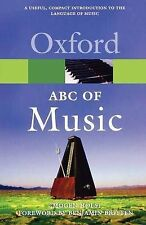 An ABC of Music (Oxford Paperback Reference), Holst, Imogen, Used; Good Book