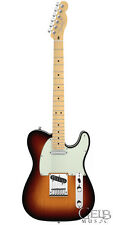 Fender American Deluxe Telecaster Pro Guitar in Sunburst with Case - 0119402700