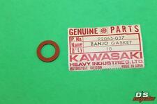 NOS Kawasaki Oil Pipe Banjo Gasket W1 W2TT KZ1000 PART# 92065-037