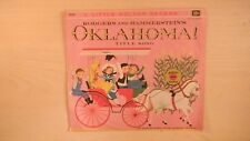 "Golden YELLOW Record Rodgers & Hammerstein's OKLAHOMA! Title Song 6"" 78rpm 1951"