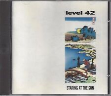 Level 42 ‎– Staring At The Sun   cd