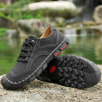 Men Fashion Hiking Trail Shoes Outdoor Trekking Sneakers Cross Training Athletic