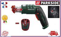 PARKSIDE® Visseuse sans fil 3,6V multi-embouts Rapidfire 2.1
