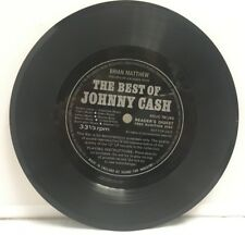 Brian Matthew‎–Introduces Excerpts From The Best Of Johnny Cash Vinyl Flexi Disc