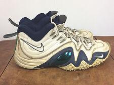 the latest dd762 2a741 Original Vintage 90s Nike Air Flight Turbulence Jason Kidd Basketball Shoes  11.5