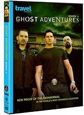 GHOST ADVENTURES - SEASON 4   -  DVD - REGION 1 - Sealed