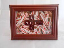 """Scrabble Tiles Sign """"Joy, Noel"""", Holiday Decor, Christmas, Seasonal"""