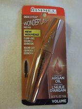 Rimmel Wonder'Lash Mascara Clump-Free Volume & Definition w/Argan Oil~003 Black