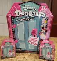 *Disney Doorables* 1 MULTI 2 Mini PEEK SURPRISE MYSTERY Packs NEWFREE SHIPPING