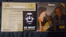 BEETHOVEN - SONATE VIOLINO E PIANOFORTE. ARGERICH KREMER. CD ED. AMADEUS