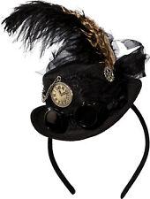 Minihut Steampunk schwarz