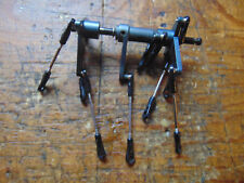 TREX 600E GREY ALLOY AILERON & ELEVATOR CONTROL ARMS & LINKS
