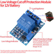 12V Battery Low Voltage Cut off Switch Controler Excessive Protection Module J