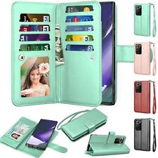 For Samsung Galaxy Note 20 Ultra 5G / Note 20 Leather Wallet Flip Case Cover