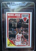 1989 FLEER #21 MICHAEL JORDAN CHICAGO BULLS HOF NM-MT PLUS