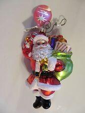 Christopher Radko Dillard's Santa 2010 NWT w Radko Box 3012668