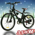 """26"""" 350W Alloy Electric Bicycle Bike City Mountain 36V Battery Sport+Lamp 25KM/H"""