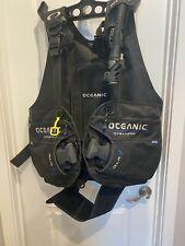 Oceanic Ocean Pro QLR 4 BCD Size XL Scuba Gear