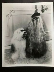 FELIX SILLA - SIGNED 8X10 GLOSSY PHOTO - THE ADDAMS FAMILY - VERY GOOD CONDITION