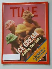 Time Magazine August 10 1981 Ice Cream - Royal Wedding Special Pictures Section