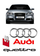 Personalized Audi quattro S line decoration ICING WAFER edible cake topper A4