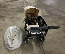 Bugaboo Donkey Duo Sand Standard Seat Stroller In Overall Great Condition !!