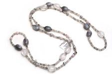 "New DAVID YURMAN 49"" Tweejoux Necklace -Agate, Pearl, Opal NWT"