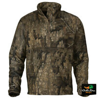 BROWNING WICKED WING 1/4 ZIP HIGH PILE FLEECE JACKET  - REALTREE TIMBER CAMO -