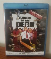 Shaun of the Dead Bluray Zombie Comedy Horror