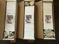 Lot of (3) 1990 Upper Deck Baseball Hand Collated Sets Griffey Jr 2nd Year Card