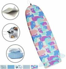 """14""""x42"""" Heat Resistance Metallic Over-The-Door Ironing Board Cover Durable Thick"""