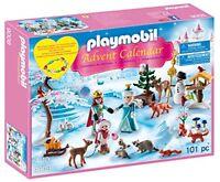 Playmobil 9008 Advent Calendar  Royal Ice Skating Trip  with a Children s Bracel