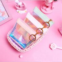Hologram Holographic Wallet Coin Purse Bag Card Holder Zipped Handbag Shan