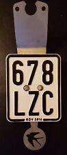 Kennzeichenhalter Edelstahl für Simson S S51 S50 SR50 Schwalbe KR51/2 S50 KH-20