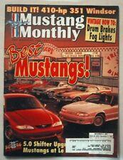 MUSTANG MONTHLY 1997 NOV - SALEEN-ALLEN, SYSTEMAX II