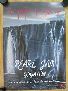 Pearl Jam - DIN A1 - Promo Poster Plakat - 2020 - CD LP Gigaton - Eddie Vedder